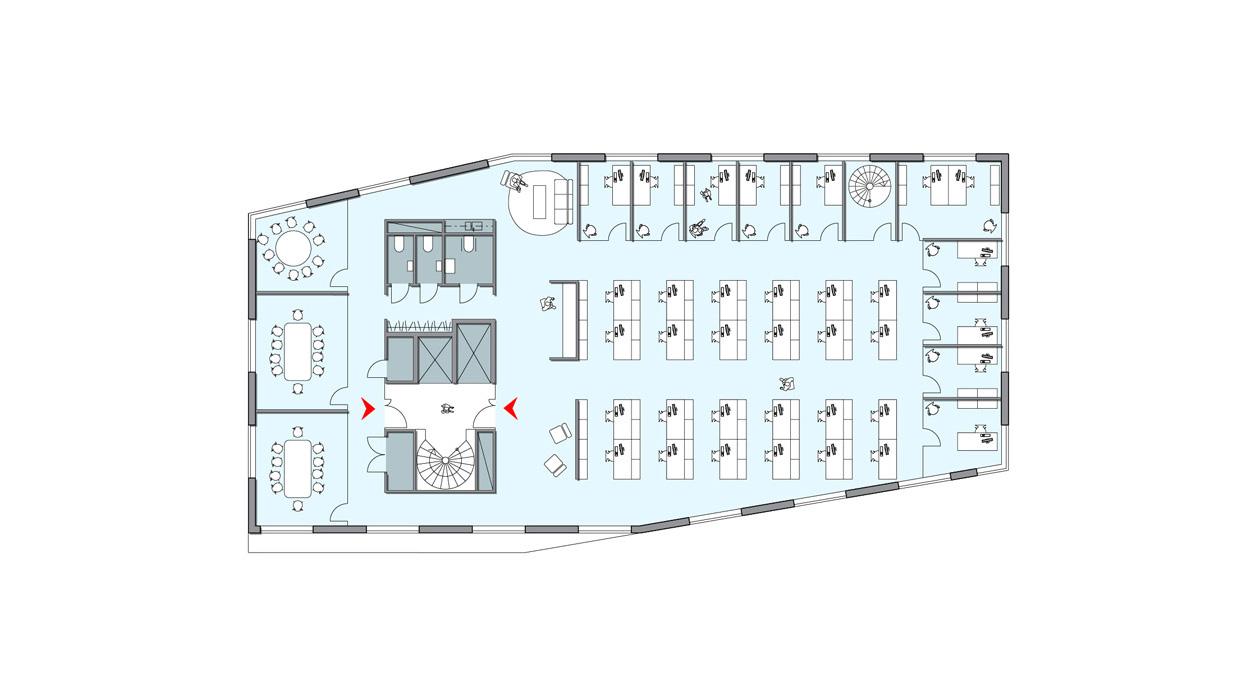 KTH_Högskola_Universitet_Forskningslokaler_Kontor_Energieffektiva_Plan_Varg_Arkitekter