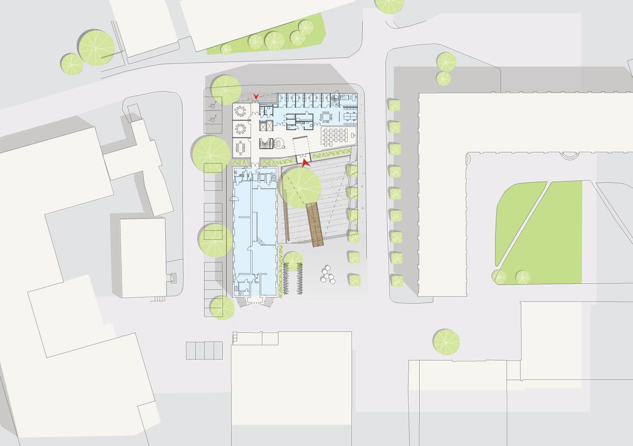 KTH_Högskola_Universitet_Forskningslokaler_Kontor_Energieffektiva_Site_Plan_Varg_Arkitekter
