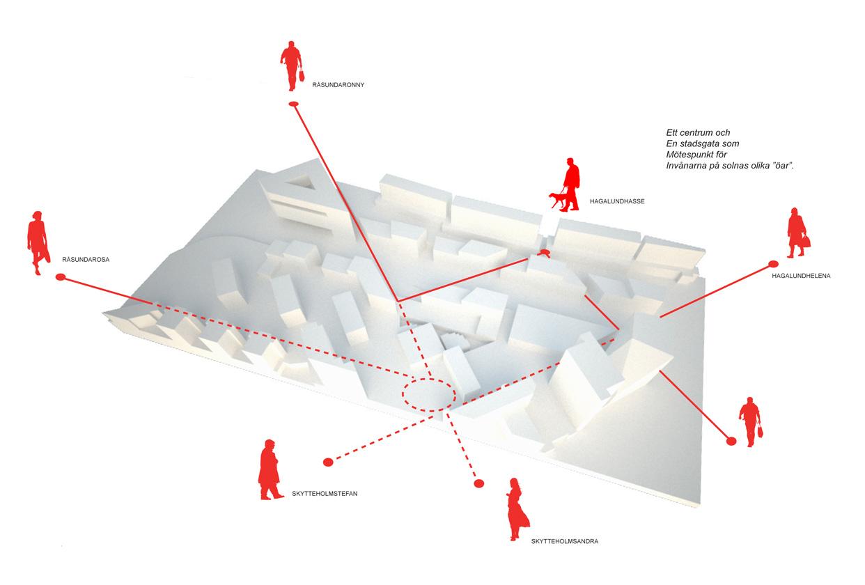 Solnavagen_solna_stockholm_diagram_gaturum_bostader_butiker_statsutveckling_varg_arkitekter